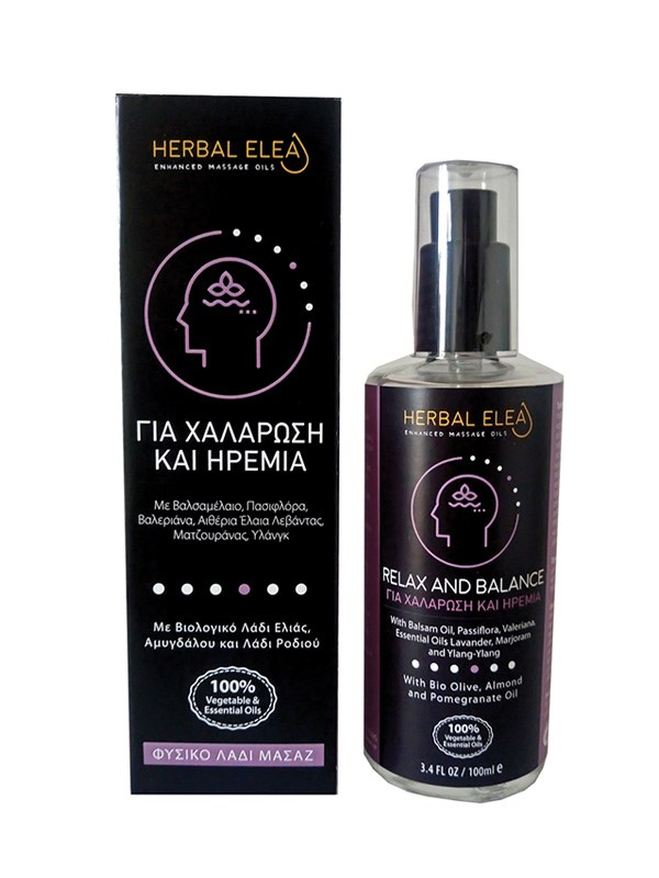 Herbal Elea Relax and Balance Oil 100ml