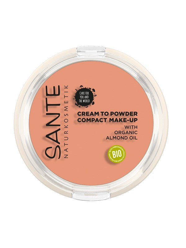 SANTE Compact Make-up 02 Warm Meadow 9gr