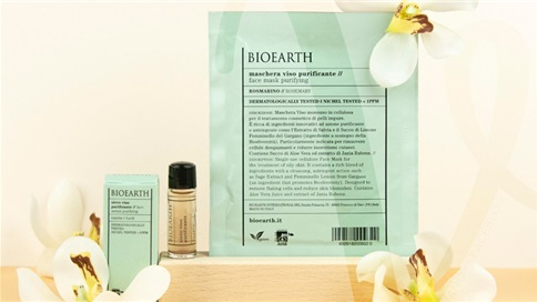 BIOEARTH  Mask & Serum
